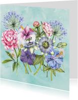 Bloemen kleurrijk