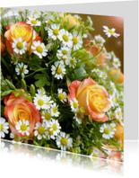 Bloemen Lief Rozenboeket
