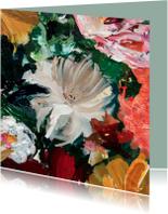 Bloemen schilderij kunst IF