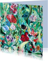bloemen schilderij Rijk Veld