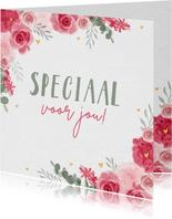 Bloemenkaart zomaar speciaal voor jou liefs