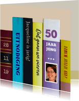 Uitnodigingen - boeken 50 jaar