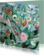 Boeket Schilderij print vk