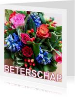 Beterschapskaarten - Boeketje Beterschap