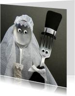 Bruidspaar Bestek - bruiloft