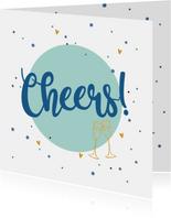 Cheers - love felicitatiekaart