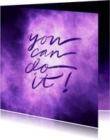 Coachingskaart you can do it galaxy