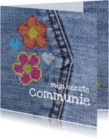 communie denim flower power
