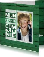 communie hout groen