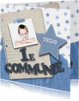 Communie stoer sterren foto