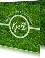Communiekaarten - communie voetbal