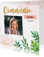 Communiekaarten - Communiekaart botanic