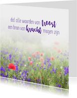 Condoleance - woorden van troost kracht bloemen