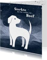 Condoleancekaart hond