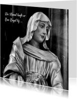 Condoleancekaart Maria Beeld - OT