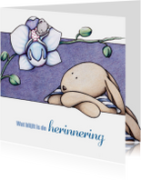 Condoleancekaart Orchidee - IH