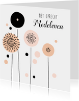 Condoleancekaart Paardenbloem - PC