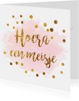 confetti felicitatiekaart