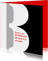 Beterschapskaarten - De B van Beterschap