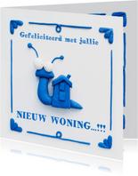 Delfts Blauwe Slakkenwoning