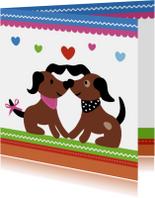 Dieren-Verliefde Hondjes-HK