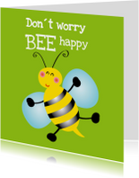 Don´t worry be happy kaart