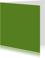 Donker groen dubbel vierkant