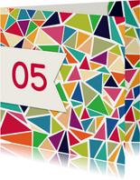 Driehoek jubileum 5 jaar - DH