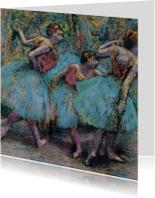 Edgar Degas. Danseressen met blauwe tutu