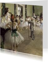 Edgar Degas. De balletklas