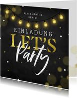 Einladung Rentenbeginn 'Let's Party '