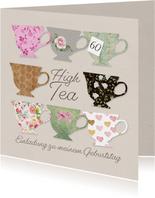 Einladung zum High Tea Geburtstag