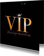 Einladungskarte zum Geburtstag VIP Party