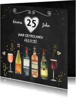 Feest wijn jubileum