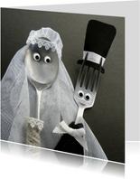 Felicitatie Bruidspaar Bestek - bruiloft