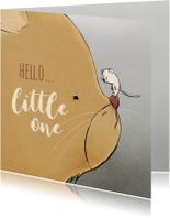 felicitatie geboorte kat en muis