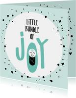Felicitatie geboorte Little bundle of joy