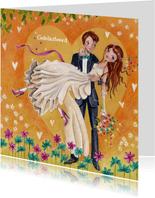 Felicitatie Huwelijk Trouwen