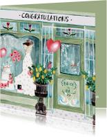 Felicitatie Huwelijk Winkel Zwanen