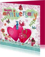 Felicitatie Huwelijksjubileum Hartjes