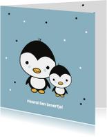 Felicitatie - Pinguïn broertjes