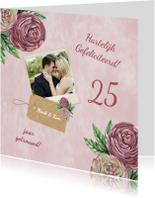 Felicitatiekaarten - felicitatie ranonkel jubileum