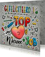 Felicitatie Top Job