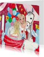 Felicitatie verjaardag paard