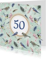 Felicitatie vogels leeftijd