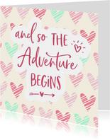 Felicitatie - zwanger adventure begins