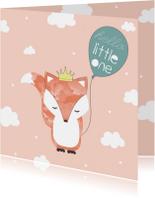 Felicitatiekaart geboorte meisje - Hello Little One