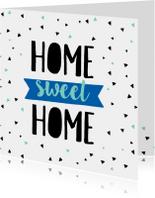 Felicitatiekaart Home-pc