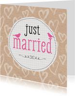 Felicitatiekaart Huwelijk 99