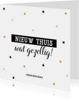 Felicitatiekaart Nieuwe Thuis